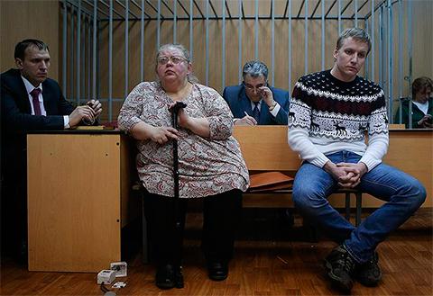 Константин Сальников и Алла Аверина
