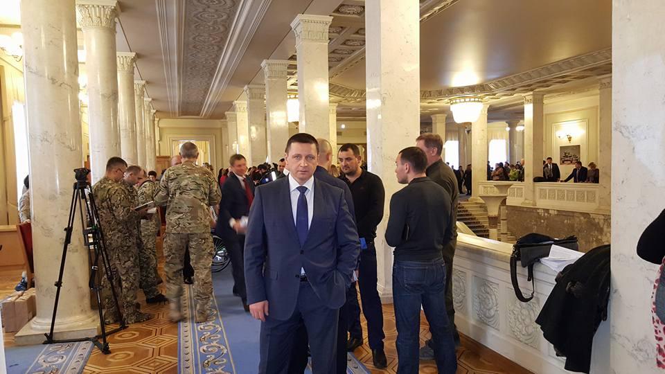Ректор Харьковской академии физкультуры Александр Ажиппо в Верховной Раде