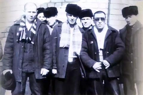 Александр Северов (Саша Север) в очках