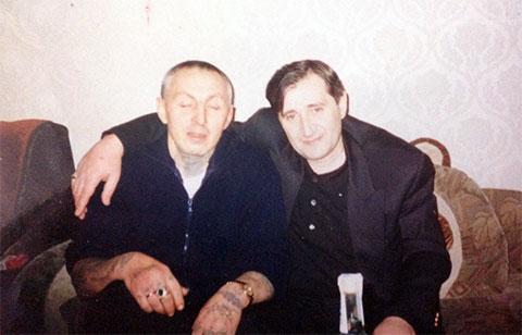 Слева воры в законе: Александр Северов (Север) и Камо Егиазаров (Камо Московский)