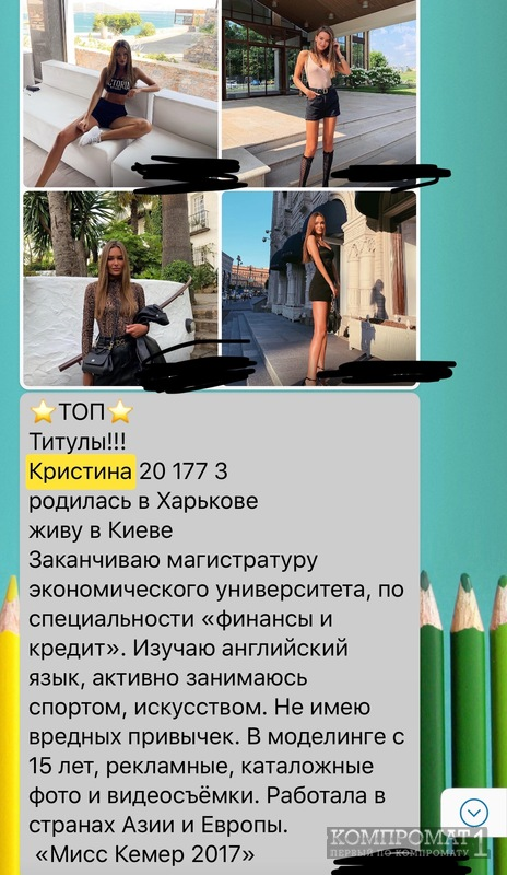 Кристина Челомбитько